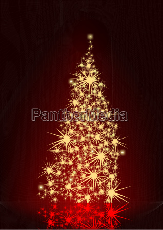 sparkle christmas tree