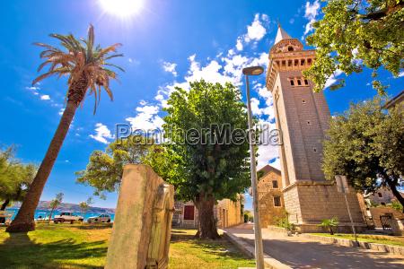 kastel stafilic church and landscape view