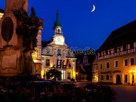 kulmbach am marktplatz