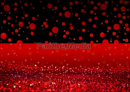 abstract red lights glitter background