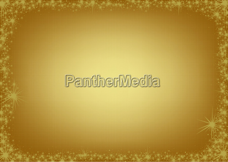 golden background bordered in sparkles