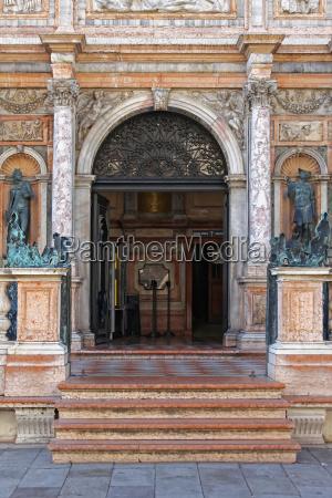 campanile entrance
