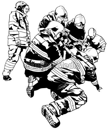 feuerwehr und retter