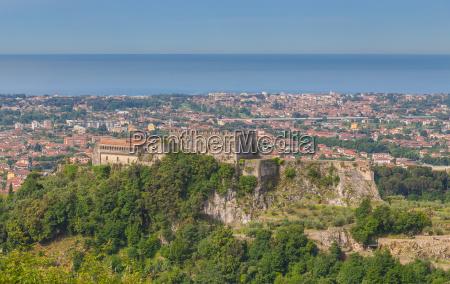 castello malaspina di massa toskana italien
