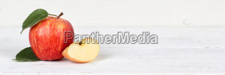 apple red fruit fruit fruits banner