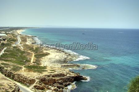blau lebensstil anhoehe huegel tourismus strand