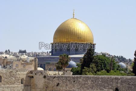 die kuppel des felsens in jerusalem