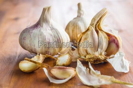 fresh healthy garlic