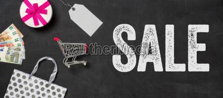 shopping concept sale