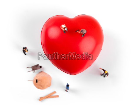 heart health and treatment concept