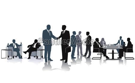 debatte und diskussion in der gruppe
