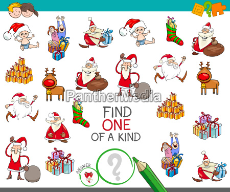 christmas one of a kind cartoon
