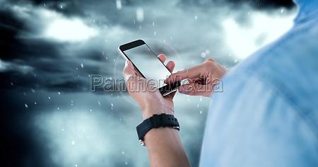 telefon telephon blau handy mobiltelefon umwelt