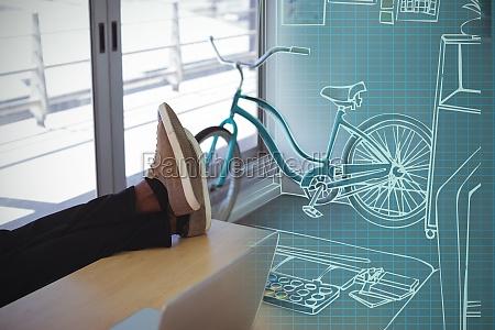 composite 3d image of illustration of