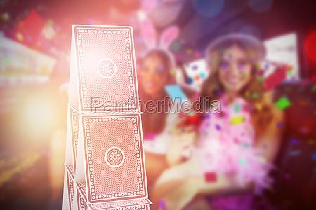 composite 3d image of portrait of