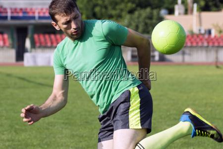 fussballspieler praktiken