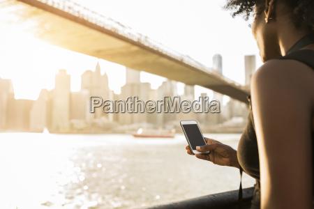 usa new york city brooklyn woman