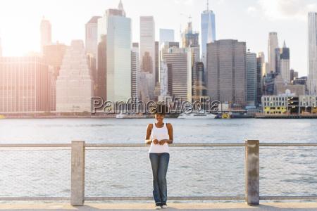 usa new york city brooklyn portrait
