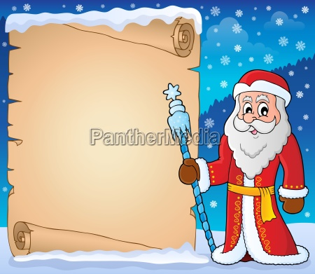 father frost theme parchment 5
