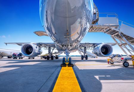 landing gear of an aircraft