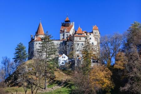 medieval bran castle brasov transylvania romania