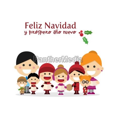 nette familiengesangslieder bei christmas night spanischer