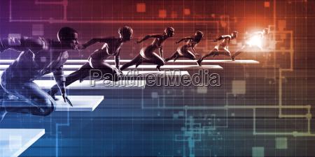 technologie rennen