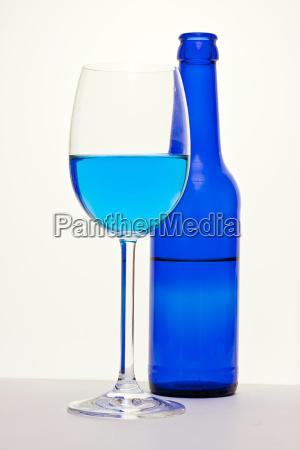 alles blau