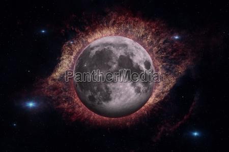 blau detail freisteller space weltall universum