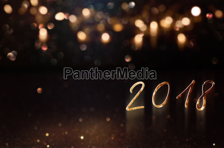 bokeh background for new year