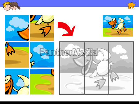 jigsaw puzzles with duck bird farm
