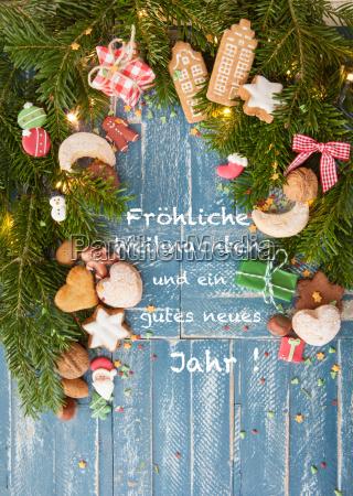 plaetzchen und nuesse zu weihnachten