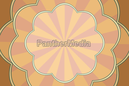 vintage pop art background patterned form