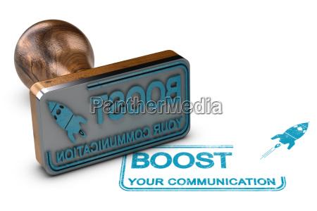 kommunikations und werbekonzept