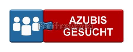 puzzle button zeigt azubis gesucht