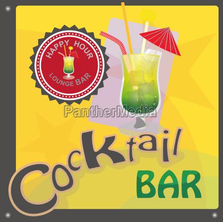 cocktailbar zeichen