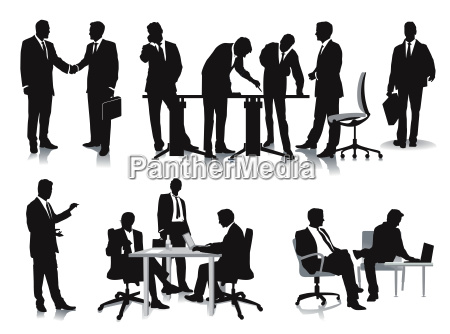 business people management and administration