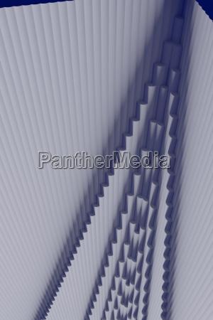 3d illustration einer struktur die aus