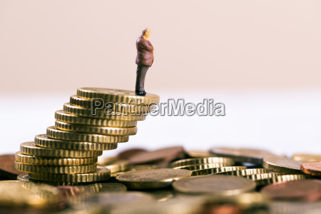 business konkurs og investeringsrisiko begreb forretningsmand