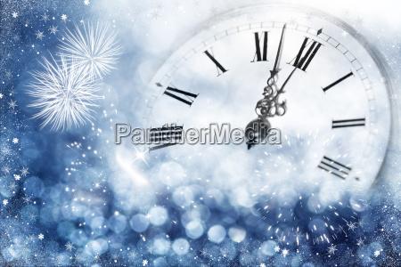 twelve oclock new years eve