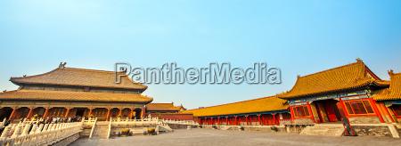 verbotene stadt in peking nordchina