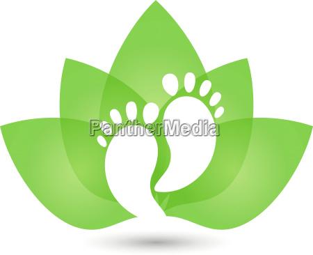 feetleavespedicuremedical practitionerlogo