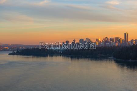 stadt kanada skyline geschaeftsviertel
