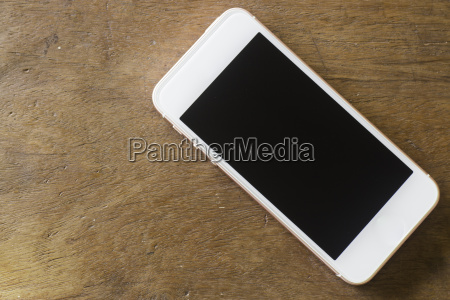 smart phone with blank screen on
