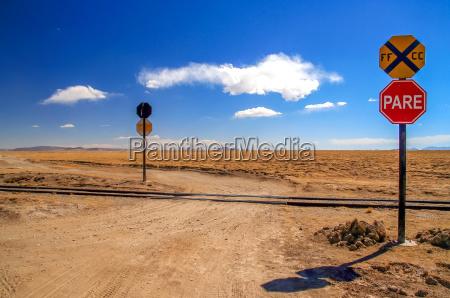 remote railway crossing