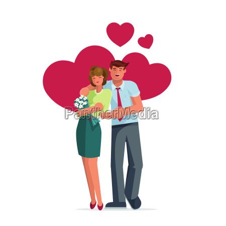 valentines day couple pose