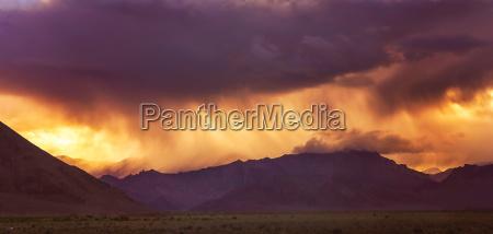 stormy skies in tibet