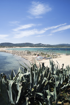 view of beach isola dei gabbiani