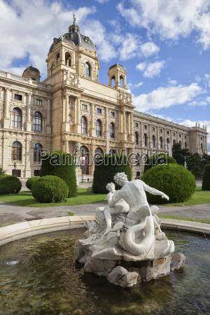 austria vienna view to museum of