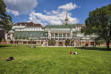 austria vienna view of people at